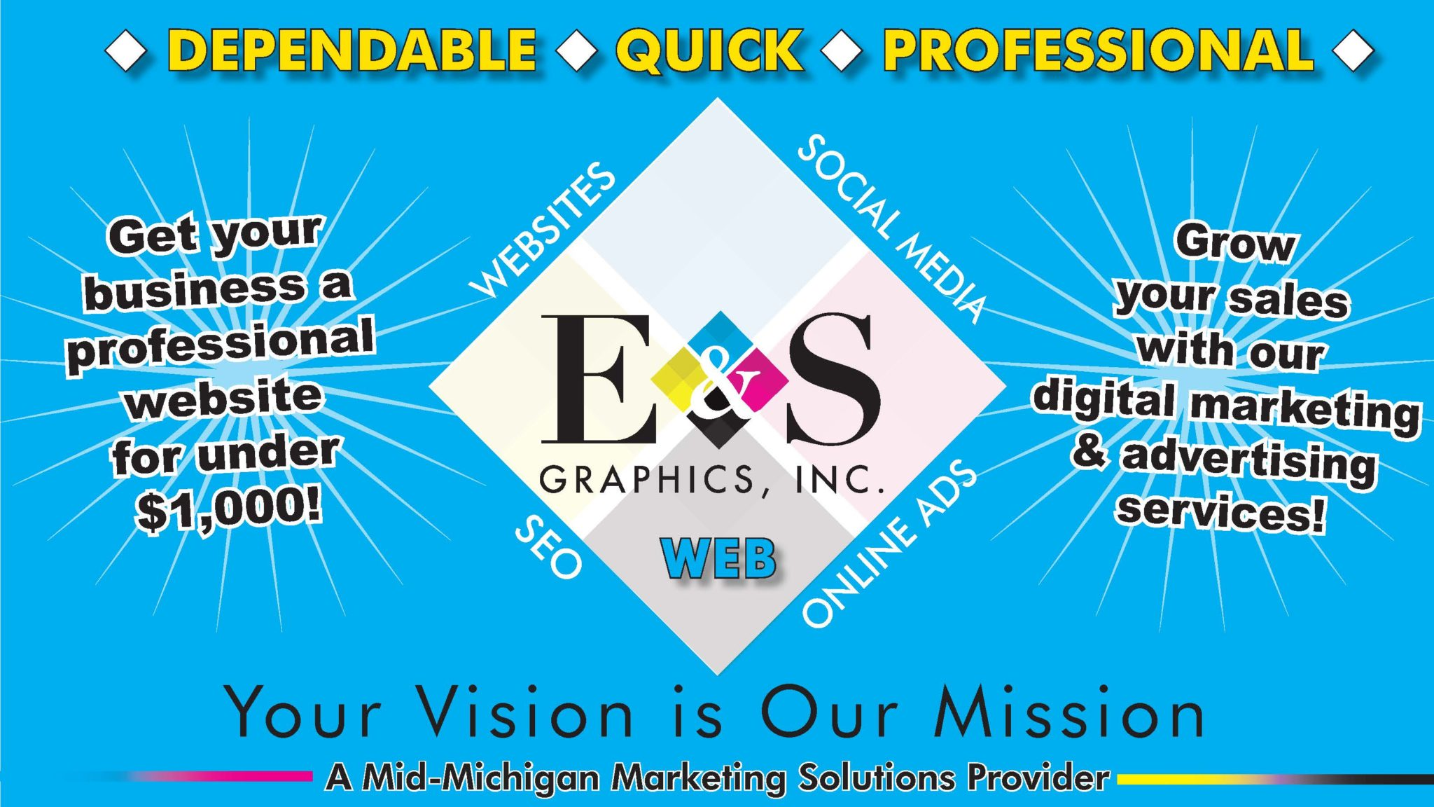 Web Design & Website Development by E & S Graphics