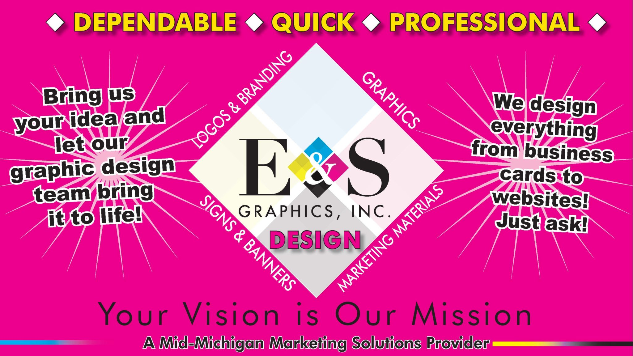 Graphic Design by E & S Graphics